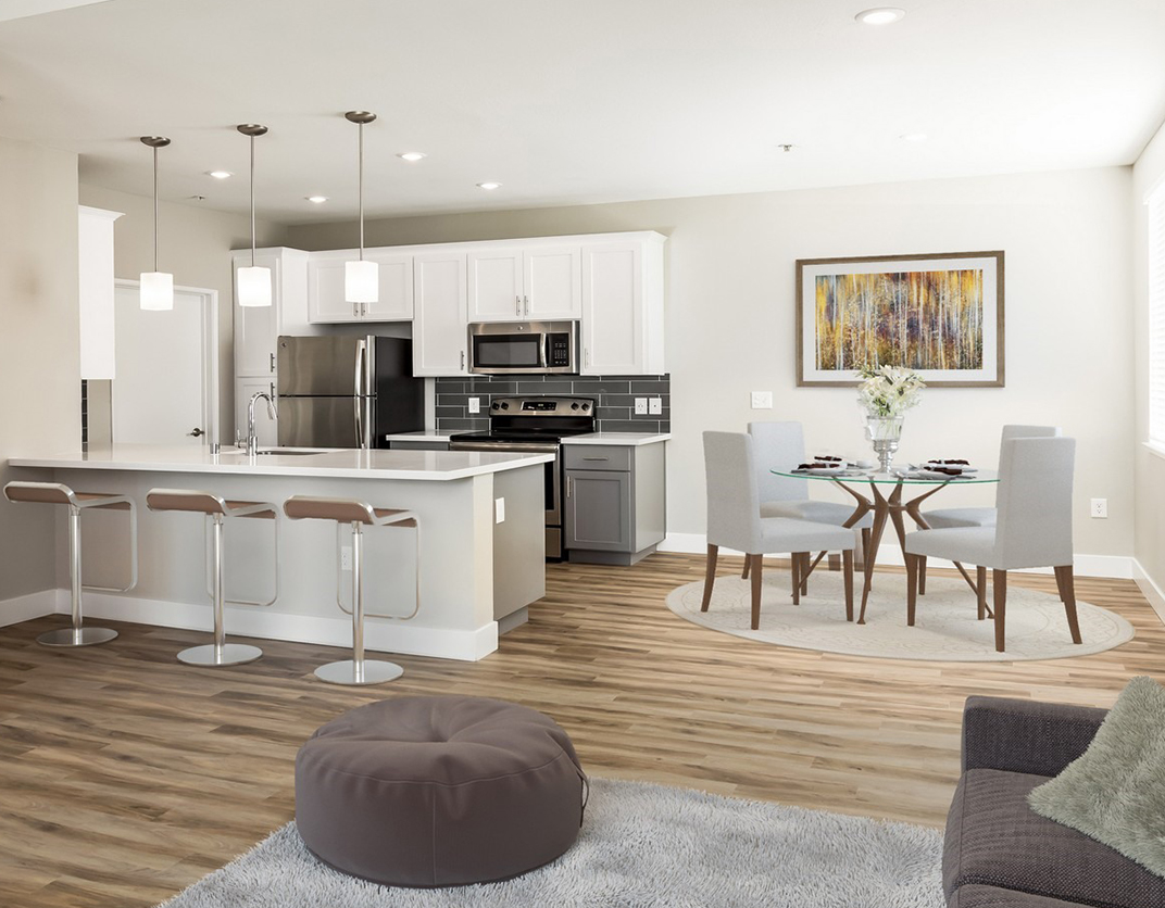 Saybrook Pointe - San Jose, CA - Living Room and Kitchen